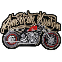 2013 hot sale American motorbike embroidered patch/design/badge