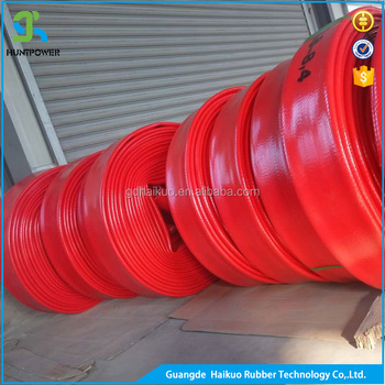Hot selling most flexible 8 inch tpu lay flat irrigation hose reel with long time life service