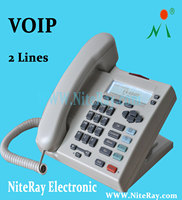 Low cost sip telephone portable office desk phone