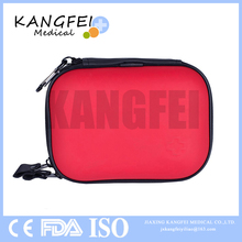 CE ISO FDA Approved KF707 red color 16 pieces EVA foam case mini first aid kit