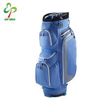 Hot selling china supplier ultralight 14 club golf cart bag with dual insulated beverage pocket