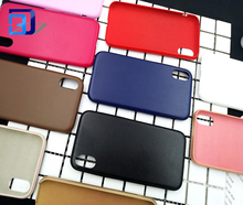 Ultra thin strong durability protective cover Imitation wool pu leather soft shell bright color mobile phone case for Iphone X