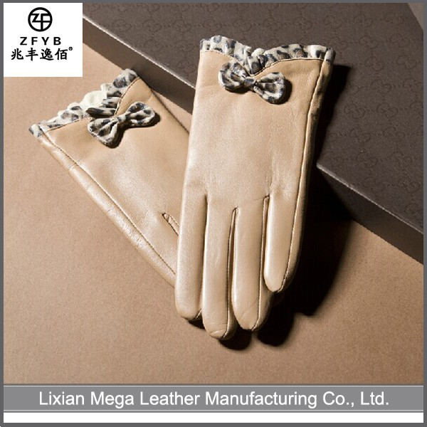 Best Manufacturers in China Leather Ladies Gloves