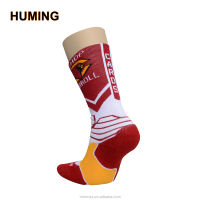 Professional brand mens compression Basketball dress Socks