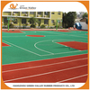 Custom synthetic rubber running track