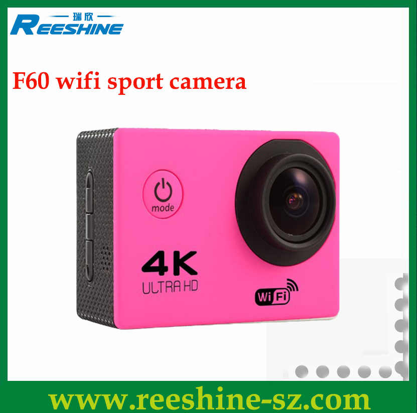 F60 mini vr video Sports wifi action Camera 4K wireless security camera
