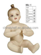 Child FRP fashion windown display male doll