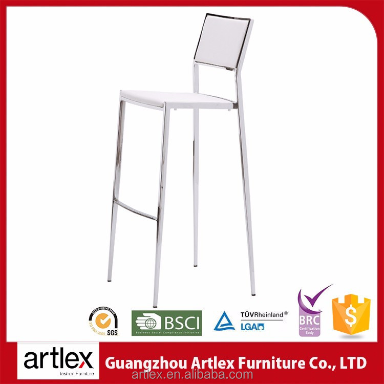 Furniture Reasonable Cheapest Price Metal Custom Wrought High Chair Leather Iron Bar Stool