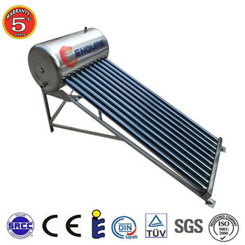 200L solar geysers vertical wall mounted Mini Solar Water Heater