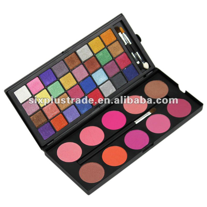 42 color Double Stack shimmer Make up Eye Shadow & Blush Palette
