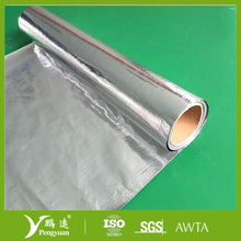 High quality heat insulation material alu/woven/bubble/alu fire retardant