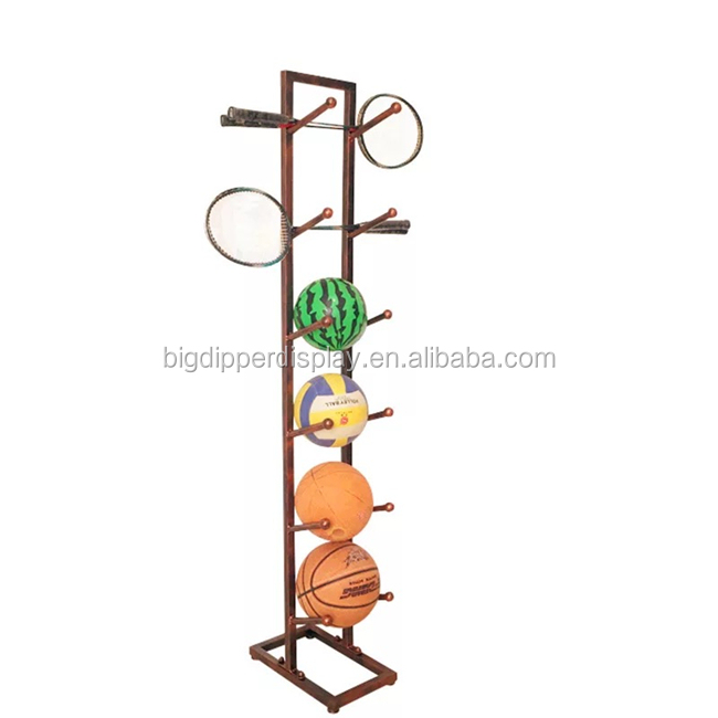BDD-BL12 multi-used baseball bat floor display sport rack