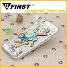 Fox Rhinestone mobile phone Case;Jewel Cases for iPhone6/6s;For Samsung note4 Diamond Cases.