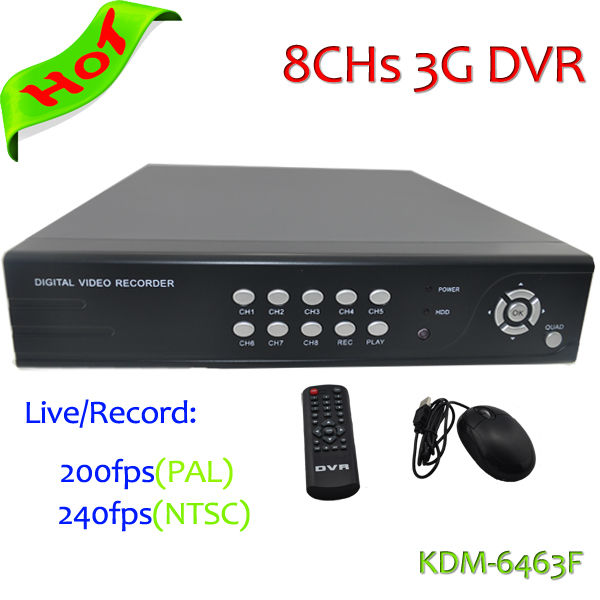 Most economic H.264 8Chs D1 Realtime CCTV DVR , 8 channel dvr H 264