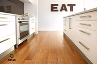 Interior bamboo flooring natural/carbonized/zebra color high glossy flooring