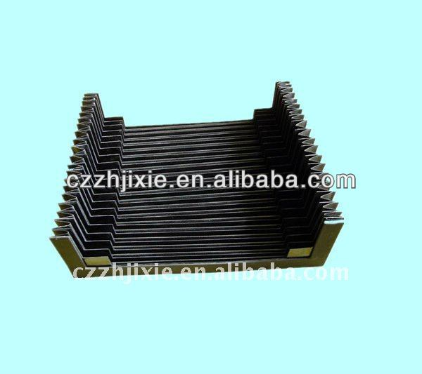 Plastic bellows covers/accordion bellows cover/ China manufacturer