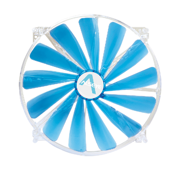 ALSEYE Sleeve Bearing 200mm LED Silent <strong>Fan</strong> for Computer Cases 12v Cooling <strong>Fan</strong> Cooler 3-4 pin 600RPM 13 Blade