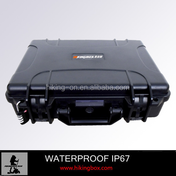 Waterproof barber tool case /Wholesale price heavy duty molded plastic carry gun case No.HTC011