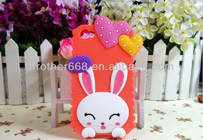 Top Quality Silicone Rabbit Mobile Phone Case