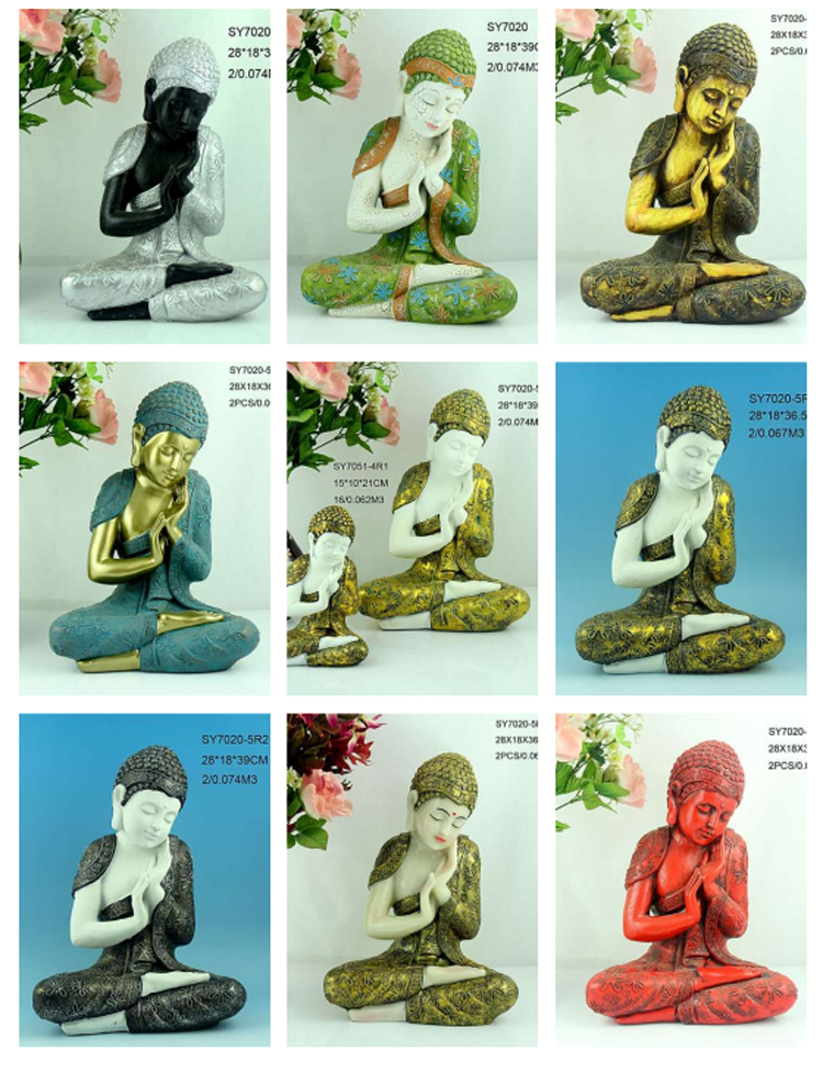 Resin sleeping buddha statues for sale