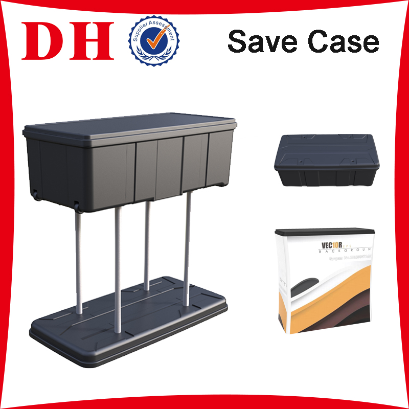 Waterproof Hard Plastic save Flight case