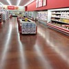 Store metallic epoxy floor concrete coating