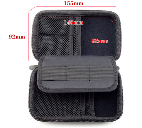 Travel Organizer Bag Case Portable EVA Hard Drive Case Electronics Accessories Bag Case