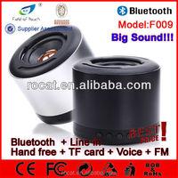 Portable size mini led bluetooth speaker light