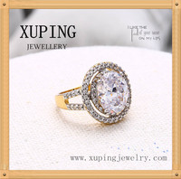 C210242- 12391 Xuping Luxury Multicolor Ring Crystal Element Women Gift European Style Ring