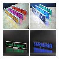 Programmable Desktop LED display Scrolling LED Signs Small LED display