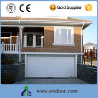 Burglar-proof steel electric sectional door