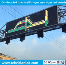 Outdoor led road traffic signs vms signs led boards programmable led sign