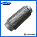Stainless Steel 201 or 304 Exhaust Pipe with Interlock Super Quiet Generator Muffler