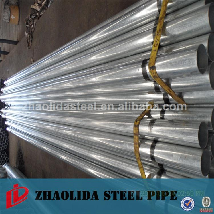 pvc coated steel pipe New design scaffolding pipe price