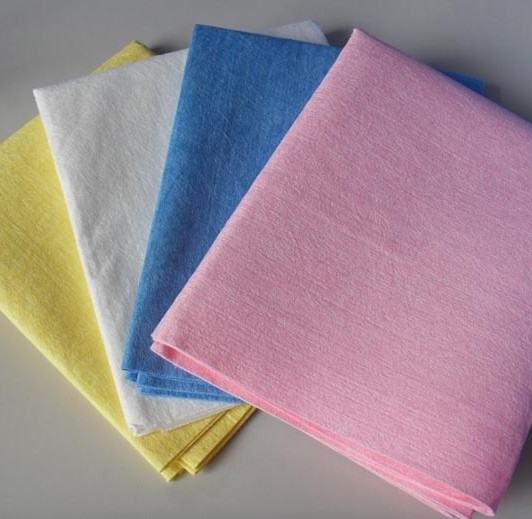 100% microfiber spun lace wipe rag for household cleaning