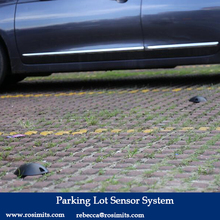 Automated Outdoor Parking Lot Spot Sensor System Car Parking Space Indicator for Smart Parking Guidance