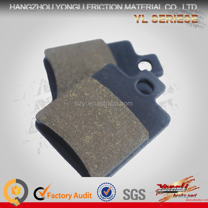 Brake pad for benelli motorcycles;brake pad for PIAGGIO NRG 50 Extreme;brake pad for bajaj vespa spare parts