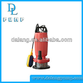 Specification of QDX Series Water Bomba