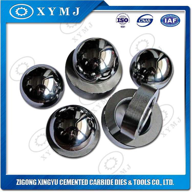 Tungsten carbide ball and valve seats