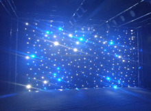 LED light bar star curtain light hi-cool DJ booth LED curtain light