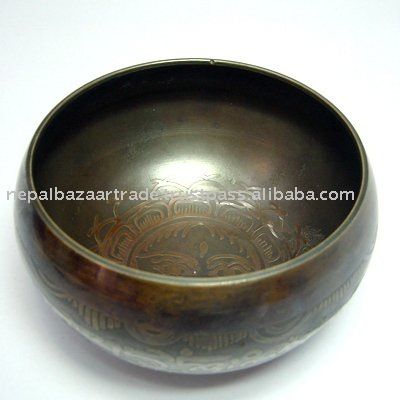 Special Carving Singing Bowl