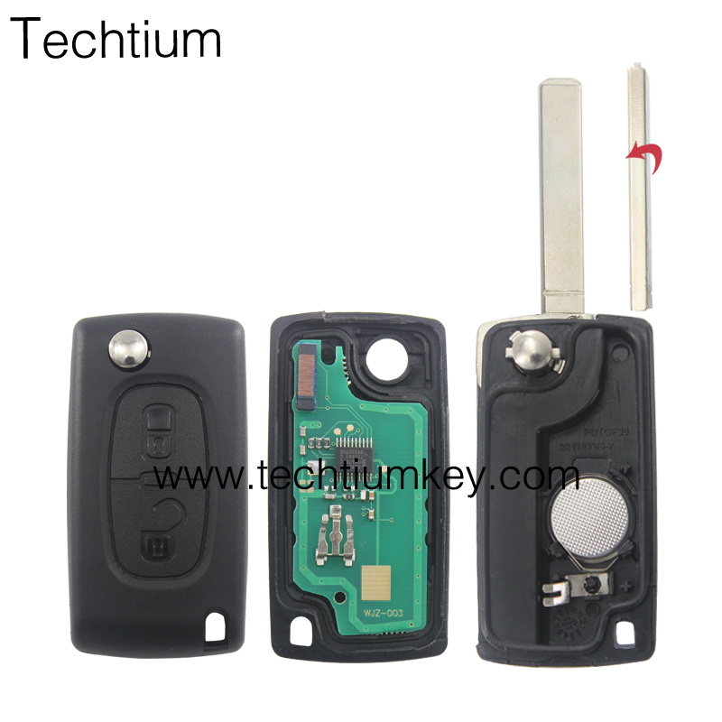 0536 433Mhz remote control for Citreon C2 C3 BERLINGO C4 PICASSO
