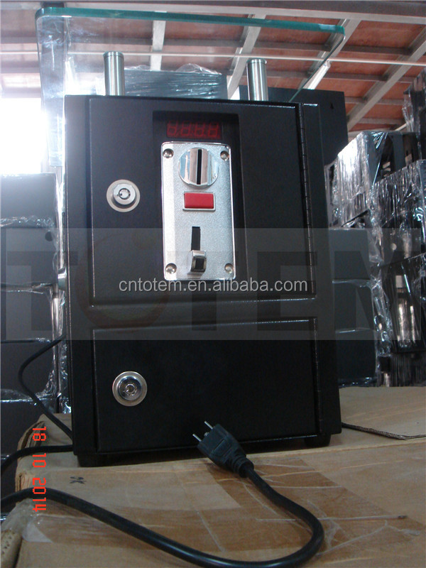 multi Coin acceptor or Coin Validation for massage shop