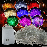 Wholesale - 10m/100leds christmas light decoration,110v/220V led christmas lights