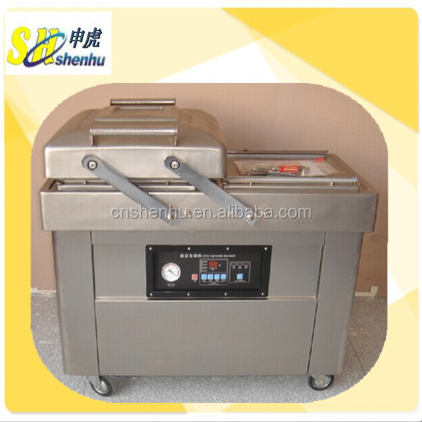 vacuum nitrogen flushing sealing machine/gas flushing sealing machine/vacuum sealer