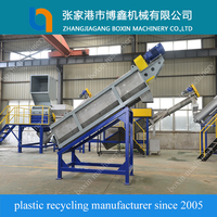 BOXIN agricultural film recycling line plastic bag washing machine