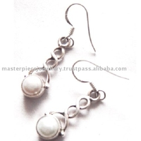Wholesale Handmade Designer Silver Jewelry from India !! Purple Amethyst Silver Stud Earring Gemstone Jewelry_925