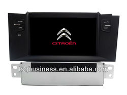 "7"" 4-core din android 4.4 touch screen car radio/stereo dvd player with gps,3g wifi,mirror link for Citroen C4L"