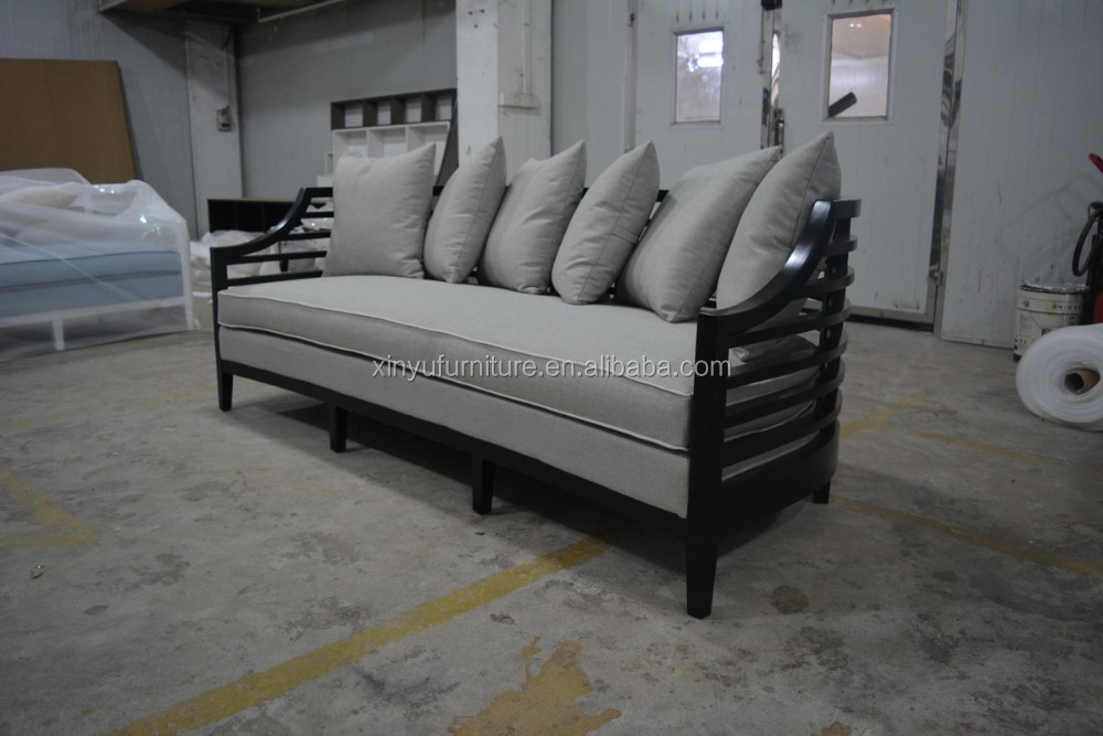 Latest Fabric Hotel Sofa with solid wood frame XYN4033