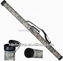 Camouflage PVC Rod Tube With Feature Fishing Tackle GT02-G01-145 plastic fishing rod tube